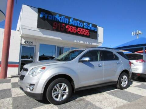 2012 Chevrolet Equinox for sale at Franklin Auto Sales in El Paso TX