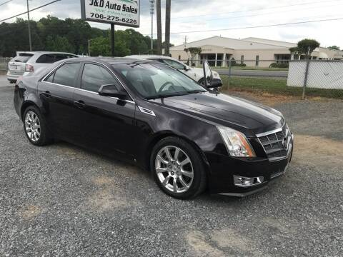 2008 Cadillac CTS for sale at J & D Auto Sales in Dalton GA
