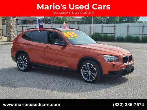 2014 BMW X1 for sale at Mario's Used Cars - Pasadena Location in Pasadena TX