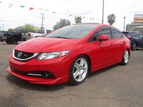 2013 Honda Civic for sale at More Info Skyline Auto Sales in Phoenix AZ