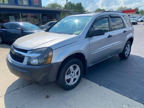 2005 Chevrolet Equinox for sale at Wise Investments Auto Sales in Sellersburg IN