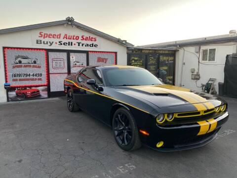 2016 Dodge Challenger for sale at Speed Auto Sales in El Cajon CA