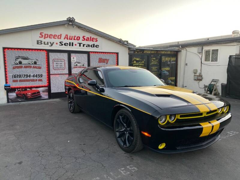 2016 Dodge Challenger for sale at Speed Auto Sales in El Cajon CA