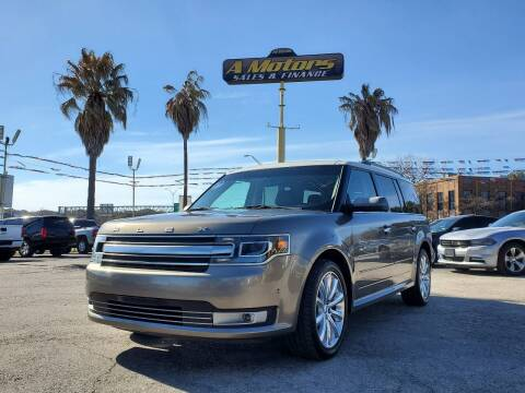 2014 Ford Flex for sale at A MOTORS SALES AND FINANCE in San Antonio TX