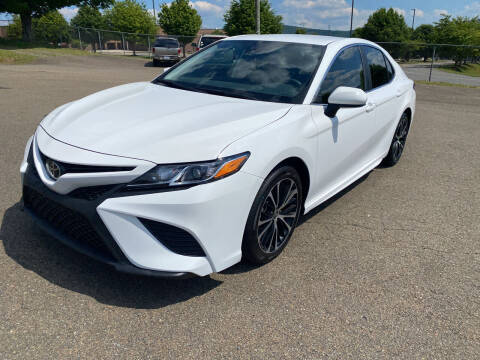 2020 Toyota Camry for sale at Steve Johnson Auto World in West Jefferson NC
