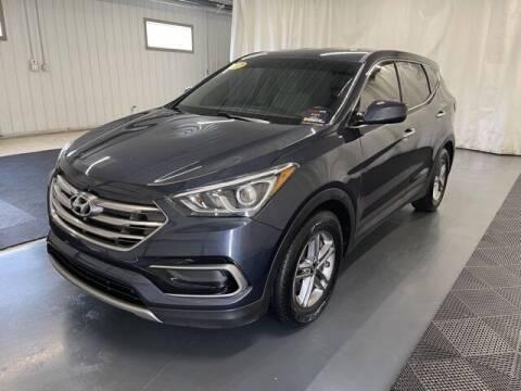 2017 Hyundai Santa Fe Sport for sale at Monster Motors in Michigan Center MI
