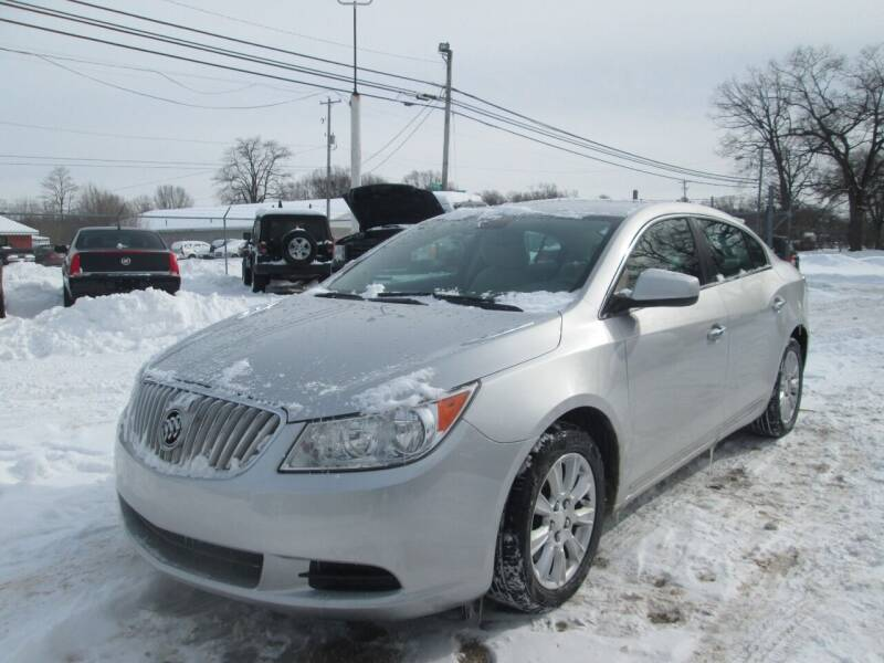 2012 Buick LaCrosse for sale at Jims Auto Sales in Muskegon MI