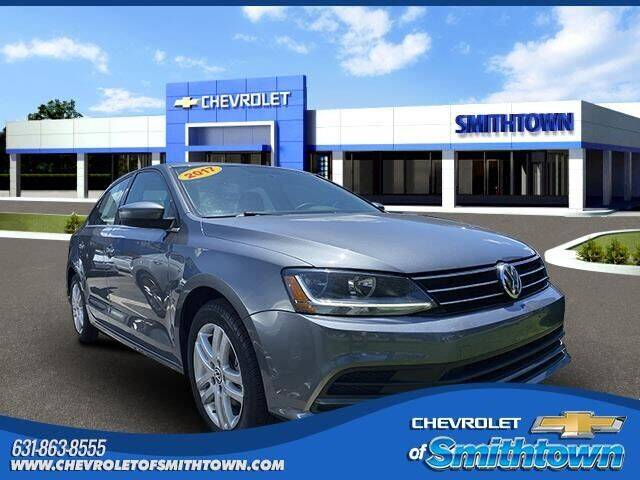 2017 Volkswagen Jetta for sale at CHEVROLET OF SMITHTOWN in Saint James NY