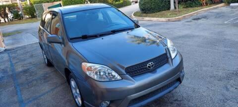 2008 Toyota Matrix for sale at Cad Auto Sales Inc in Miami FL