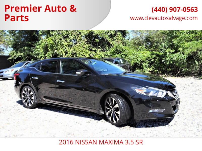 2016 Nissan Maxima for sale at Premier Auto & Parts in Elyria OH