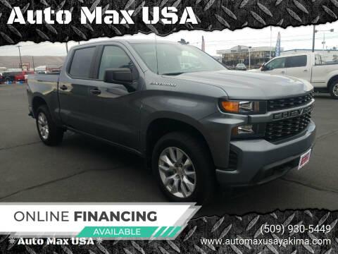 2019 Chevrolet Silverado 1500 for sale at Auto Max USA in Yakima WA