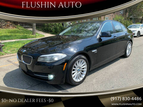 2012 BMW 5 Series for sale at FLUSHIN AUTO in Flushing NY