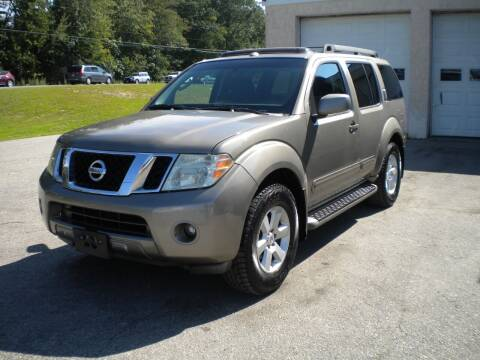 2008 Nissan Pathfinder for sale at Route 111 Auto Sales in Hampstead NH