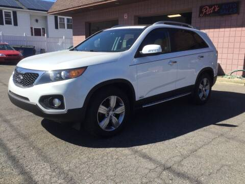 2012 Kia Sorento for sale at Pat's Auto Sales, Inc. in West Springfield MA