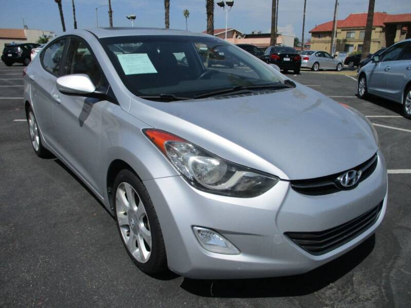 2013 Hyundai Elantra for sale at F & A Car Sales Inc in Ontario CA