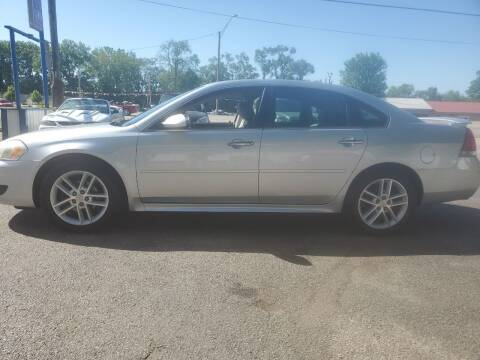 2010 Chevrolet Impala for sale at Dave's Garage & Auto Sales in East Peoria IL