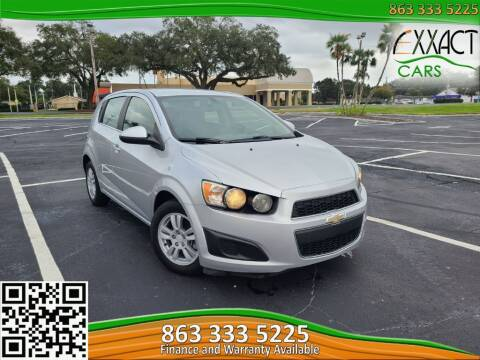 2015 Chevrolet Sonic for sale at Exxact Cars in Lakeland FL