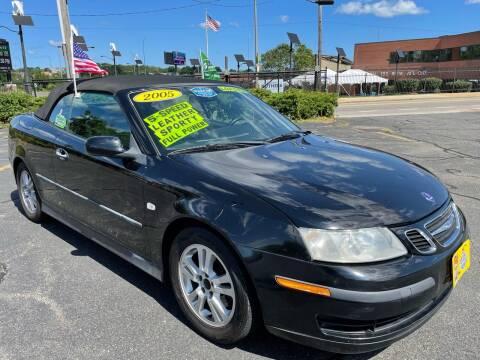 2005 Saab 9-3 for sale at Fields Corner Auto Sales in Boston MA