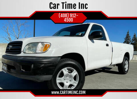 2001 Toyota Tundra for sale at Car Time Inc in San Jose CA