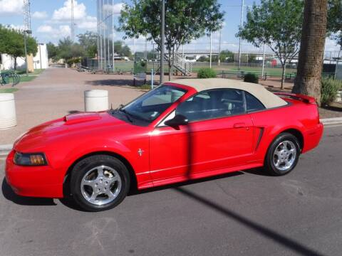 2003 Ford Mustang for sale at J & E Auto Sales in Phoenix AZ