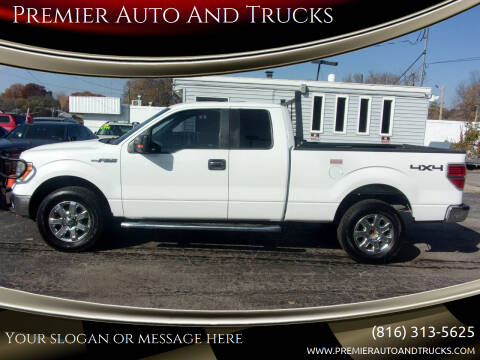 2013 Ford F-150 for sale at Premier Auto And Trucks in Independence MO