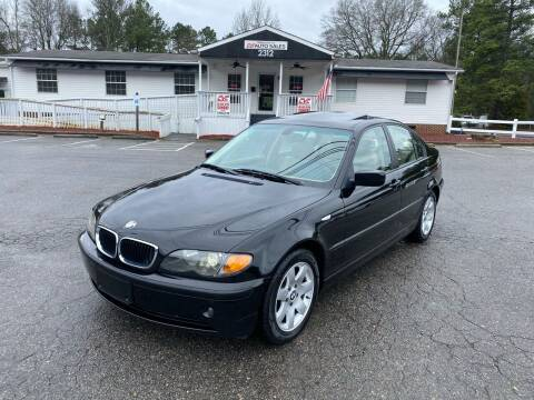2004 BMW 3 Series for sale at CVC AUTO SALES in Durham NC
