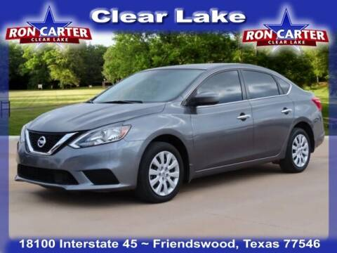 2018 Nissan Sentra for sale at Ron Carter  Clear Lake Used Cars in Houston TX
