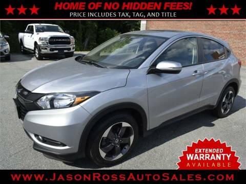 2018 Honda HR-V for sale at Jason Ross Auto Sales in Burlington NC
