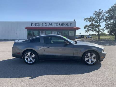 2010 Ford Mustang for sale at PHOENIX AUTO GROUP in Belton TX