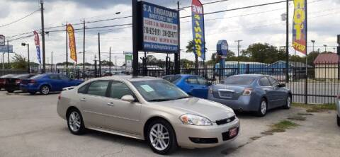 2012 Chevrolet Impala for sale at S.A. BROADWAY MOTORS INC in San Antonio TX