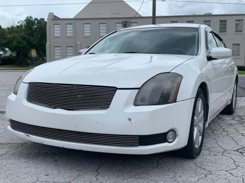 2006 Nissan Maxima for sale at LUXURY AUTO MALL in Tampa FL