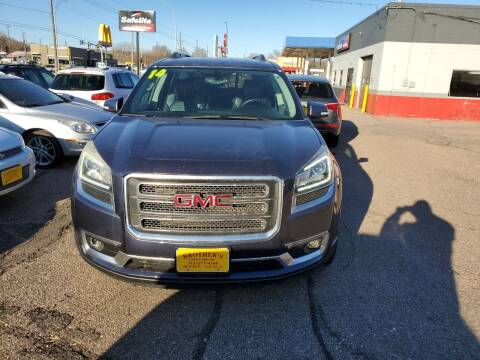 2014 GMC Acadia for sale at Brothers Used Cars Inc in Sioux City IA