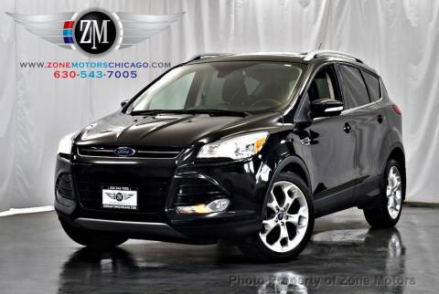 2015 Ford Escape for sale at ZONE MOTORS in Addison IL