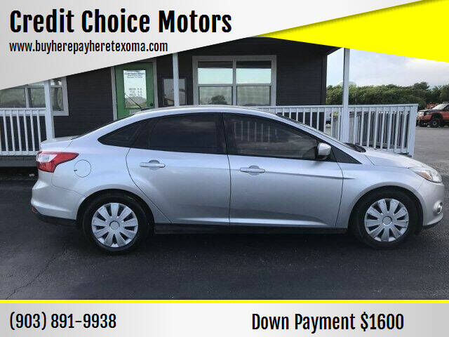 2012 Ford Focus for sale at Credit Choice Motors in Sherman TX
