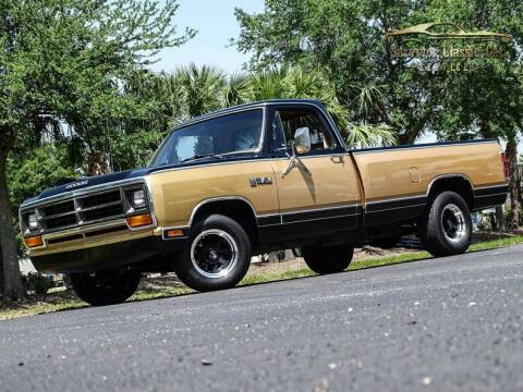 1986 Dodge RAM 150 for sale at SURVIVOR CLASSIC CAR SERVICES in Palmetto FL