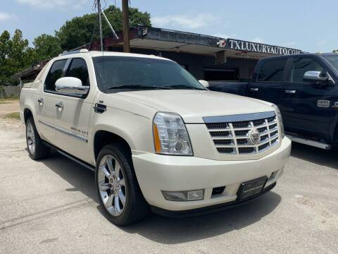 2008 Cadillac Escalade EXT for sale at Texas Luxury Auto in Houston TX
