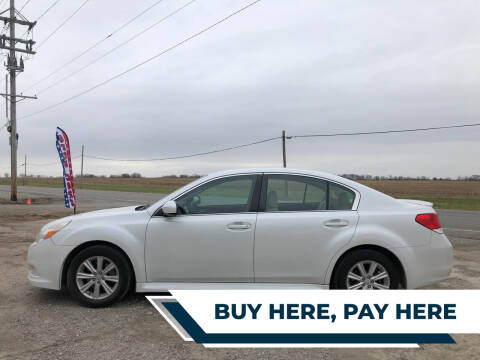 2012 Subaru Legacy for sale at Imperial Auto of Slater - Imperial Auto of Marshall in Marshall MO