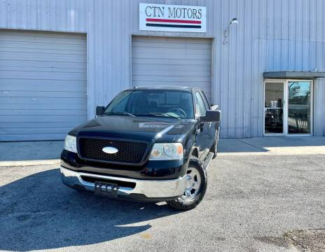 2006 Ford F-150 for sale at CTN MOTORS in Houston TX