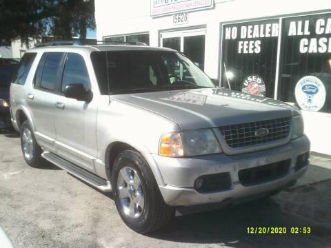 2003 Ford Explorer for sale at ROYAL MOTOR SALES LLC in Dover FL