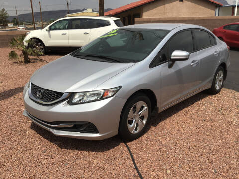 2015 Honda Civic for sale at SPEND-LESS AUTO in Kingman AZ