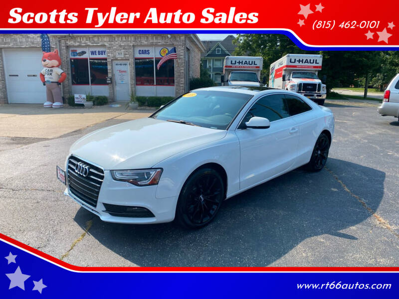 2013 Audi A5 for sale at Scotts Tyler Auto Sales in Wilmington IL