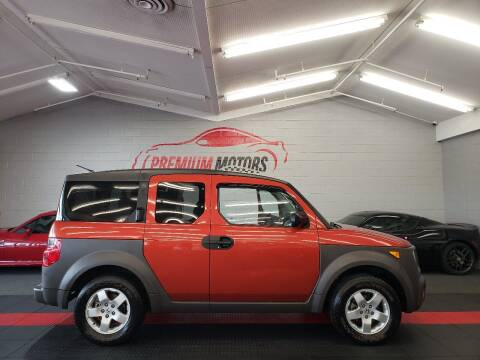 2003 Honda Element for sale at Premium Motors in Villa Park IL
