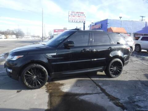 2014 Land Rover Range Rover Sport for sale at City Motors Auto Sale LLC in Redford MI