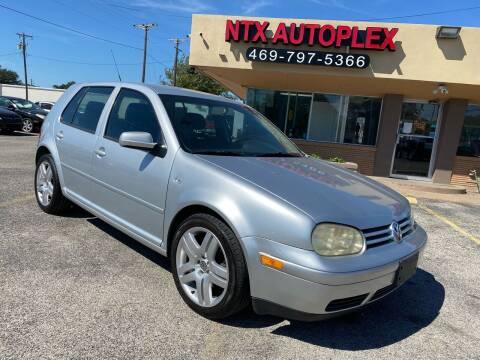 2004 Volkswagen Golf for sale at NTX Autoplex in Garland TX