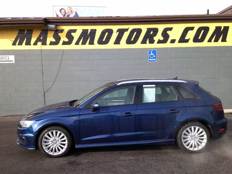 2016 Audi A3 Sportback e-tron for sale at M.A.S.S. Motors - Fairview in Boise ID