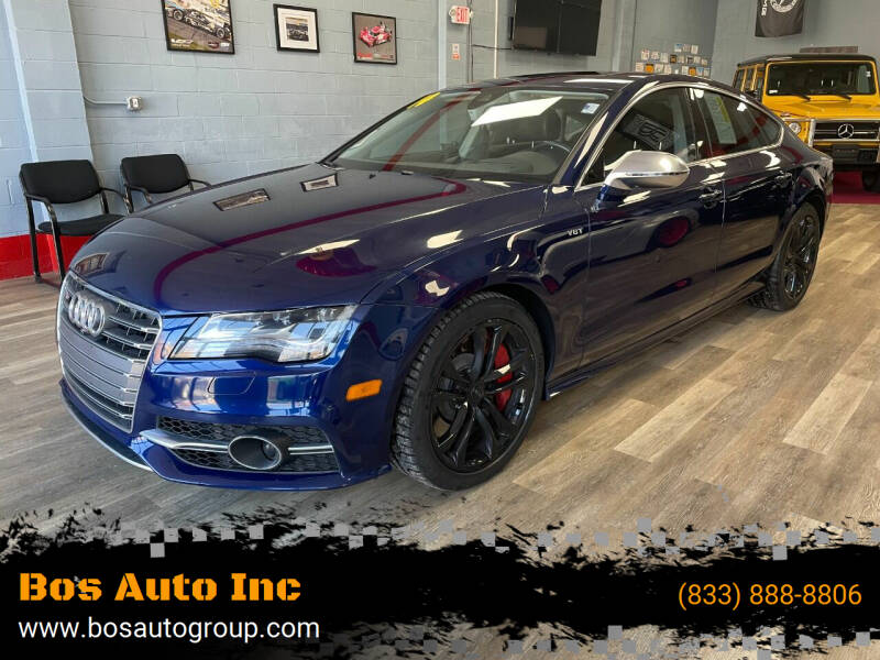 2014 Audi S7 for sale at Bos Auto Inc in Quincy MA