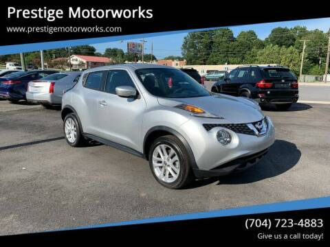 2017 Nissan JUKE for sale at Prestige Motorworks in Concord NC
