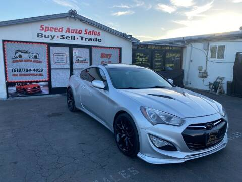 2014 Hyundai Genesis Coupe for sale at Speed Auto Sales in El Cajon CA
