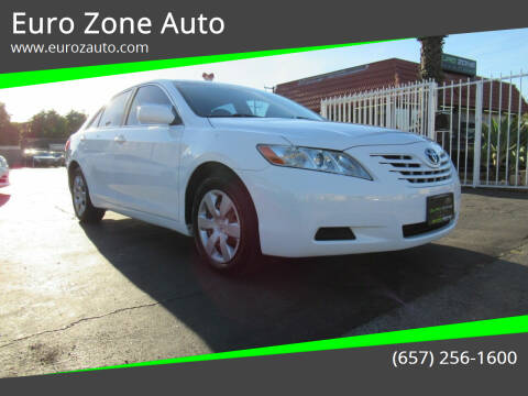 2008 Toyota Camry for sale at Euro Zone Auto in Stanton CA