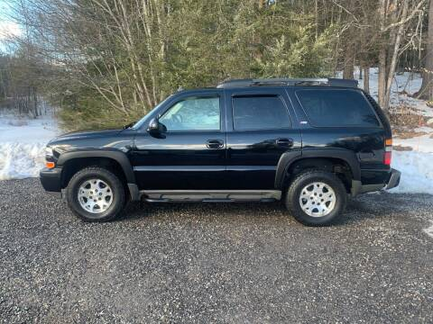 2006 Chevrolet Tahoe for sale at Top Notch Auto & Truck Sales in Gilmanton NH
